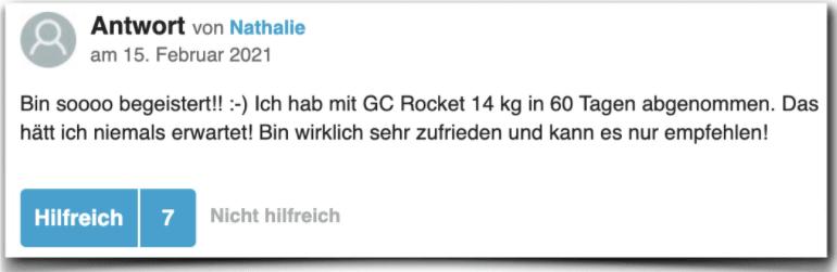 GC Rocket Erfahrung Erfahrungen Erfahrungsbericht