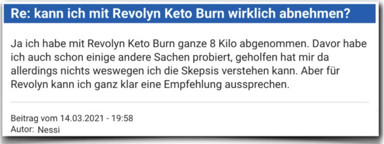 Revolyn Keto Burn Erfahrungsberichte Bewertung Erfahrungen Revolyn Keto Burn