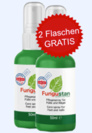 Fungustan Spray Abbild Tabelle