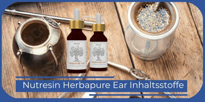 Nutresin Herbapure Ear Inhaltsstoffe