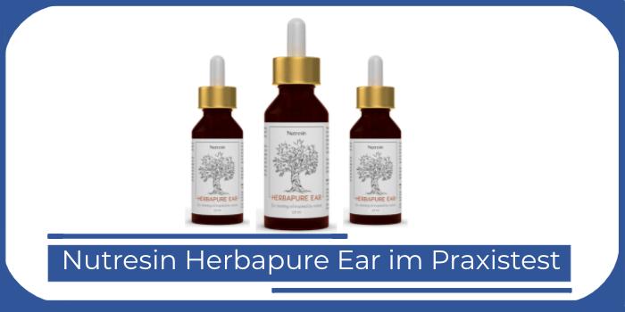 Nutresin Herbapure Ear Test