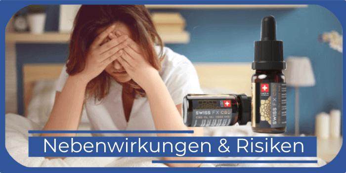 SWISS FX CBD Nebenwirkungen Risiken