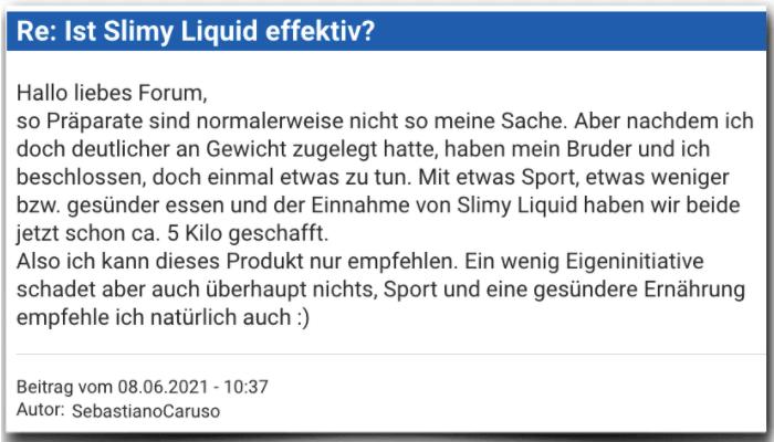 Slimy Liquid Erfahrungsbericht Bewertung Erfahrungen Slimy Liquid
