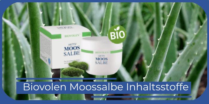 Biovolen Moossalbe Inhaltsstoffe