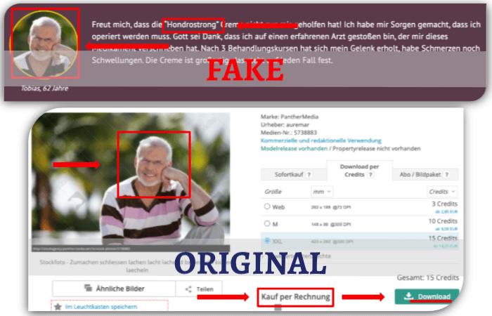 Hondrostrong Fake Erfahrungsbericht